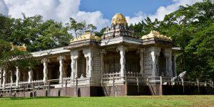 The Iraivan Temple at the Himalayan Academy.