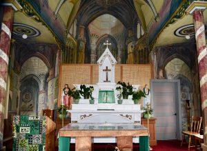 The Altar at St; Benedict Catholic Church on the Big Island