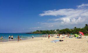 Hapuna Beach on the Big Island, HI.