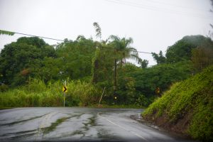 Rain on the west side of the Big Island.
