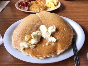Hawaiin Style Cafe pancake in Hilo, HI
