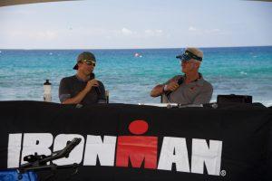 Ironman talk in Kona.