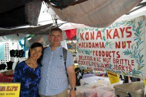Kona Kay at the Kona Farmer's Market